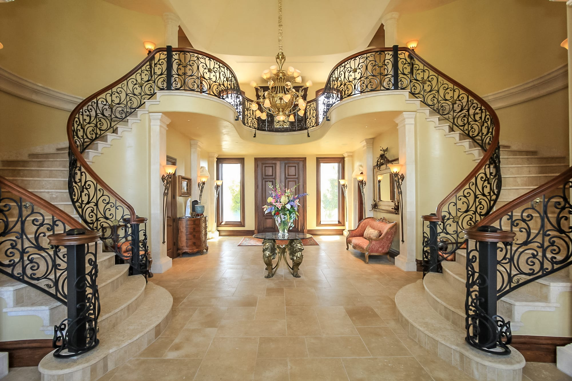 Extraordinary Utah Home Elegant French Country Chateau In