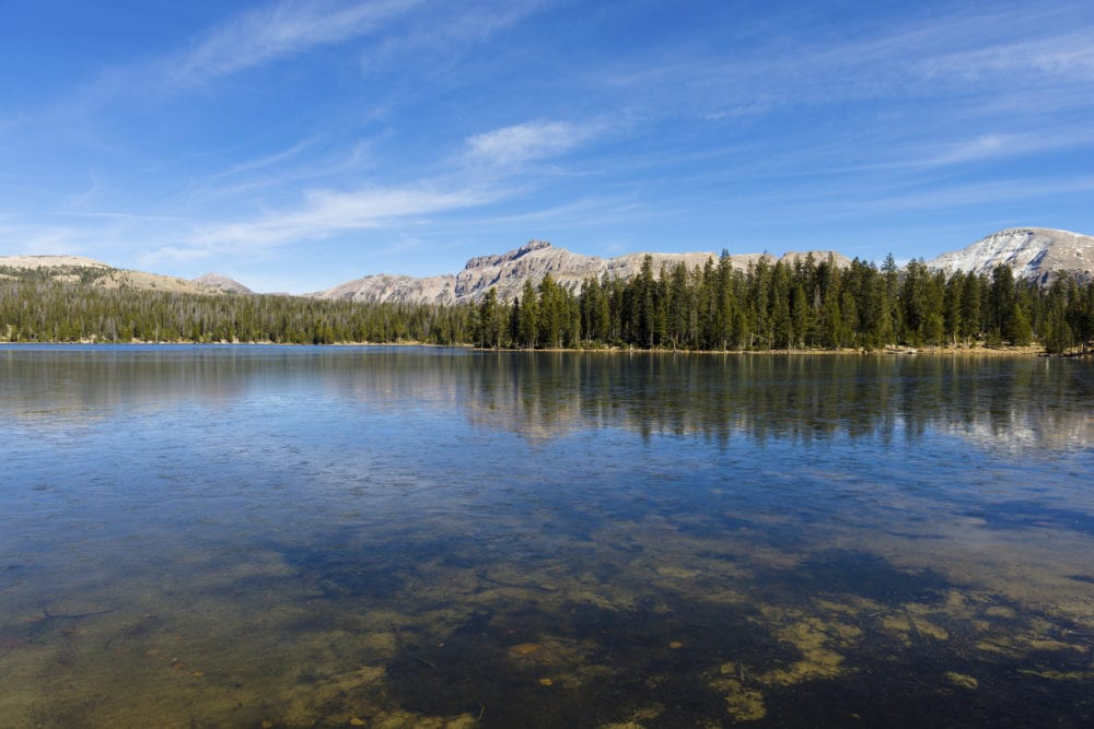 """Mirror Lake in Uinta Mountains Utah, USA. Captured as a 14-bit Raw file. Edited in 16-bit ProPhoto RGB color space."""