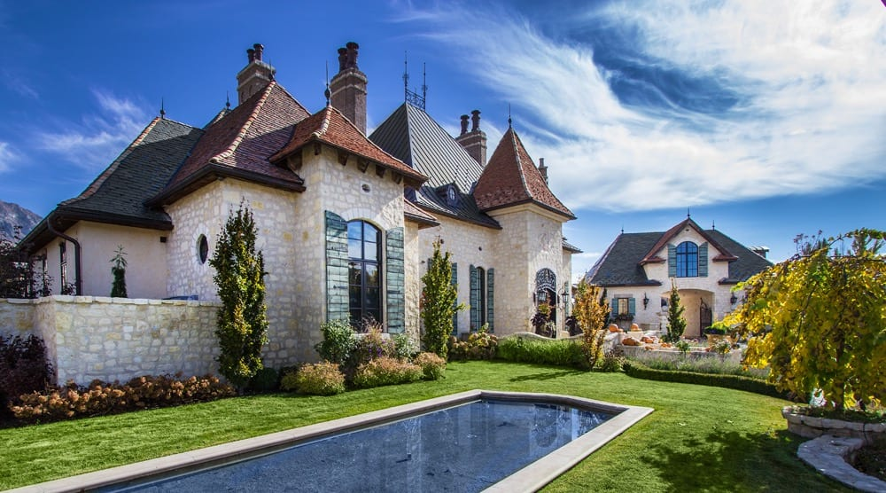 Extraordinary Utah Home Old World Flair In Orem