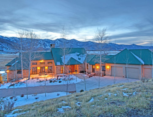 Extraordinary Utah Home: Private Sanctuary in Park City
