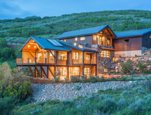Extraordinary Utah Home: Private Architectural Gem in Park City