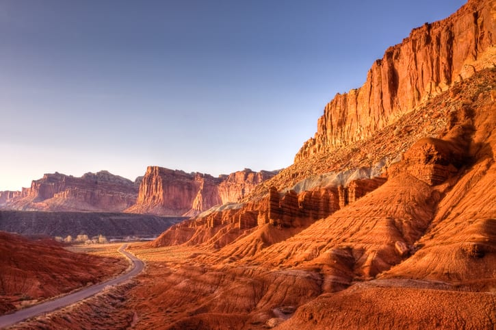 Capitol Reef's Scenic Byway leads to historic Fruita