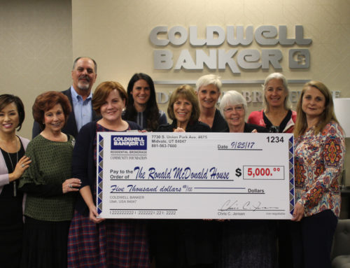 Coldwell Banker Utah Community Foundation Gives Back in 2017
